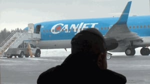 CanJet Airlines passengers stranded in Fredericton for hours