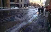 Laurier Avenue flooding