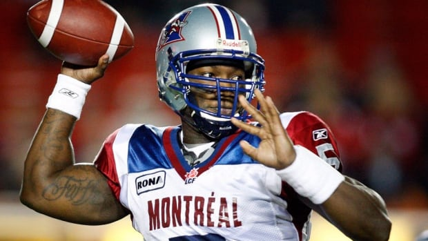 Former Alouettes quarterback Adrian McPherson has signed on with the Stampeders. He spent last season in the Arena Football League with Tampa Bay.