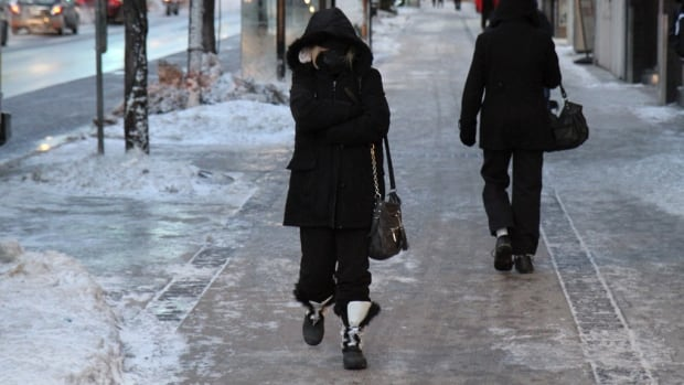 Hamiltonians endured the coldest Jan. 7 ever in the city on Tuesday, as temperatures plunged to around -24 C. People on King St. did everything they could to bundle up in the record cold.