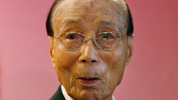Pioneering Chinese movie mogul Run Run Shaw, seen in 2010 in Hong Kong, has died at the age of 107.