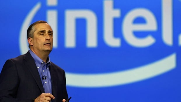 "Intel Corp. CEO Brian Krzanich announced Monday at the 2014 Consumer Electronics Show in Las Vegas that all of Intel's microprocessors are now free of ""conflict minerals"" mined from the Democratic Republic of the Congo. (Robert Galbraith/Reuters)"