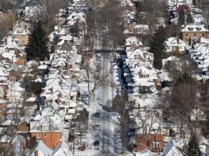 Chilly neighbourhood
