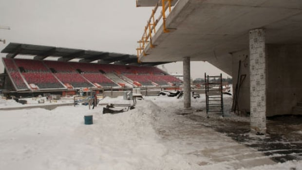 The former Frank Clair Stadium will be renamed TD Place, Ottawa Sports and Entertainment Group announced in January.
