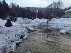 Woodmans Avenue flooding in Corner Brook