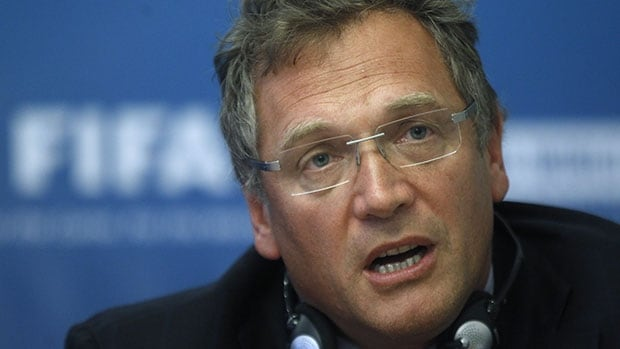 "FIFA secretary general Jerome Valcke says his organization is ""doing nothing which destroys football"" with its plans to hold the 2022 World Cup in November in December."