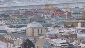 Blizzard damage in Iqaluit