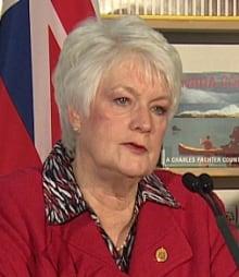 Education Minister Liz Sandals talks math