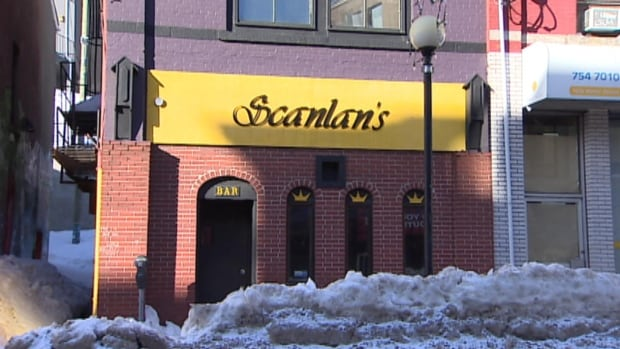 Scanlan's Bar in St. John's was fined $350 for allowing patrons to drink alcohol after hours.