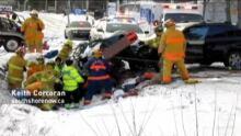 Oak hill crash