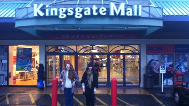 Michelle Hanley and Asha Wozny created the satirical twitter account @kingsgatemall to celebrate their East Vancouver hangout.