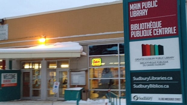 Sudbury has commissioned a study on the possibility of building a complex that would house a museum, archives and the main branch of the public library. Pictured here is the Sudbury's main branch of its library system, located downtown.