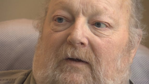 Charles Bury is dying of Stage 4 liver cancer and uses marijuana in his hospital room in Quebec with the help of a vaporizer to help deal with anxiety.