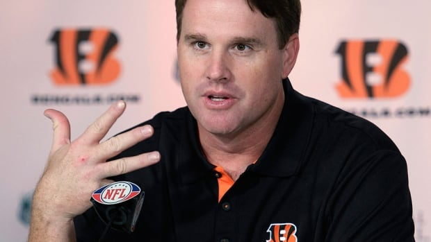 Former Bengals offensive co-ordinator Jay Gruden helped develop Andy Dalton and now has the task of working with another young franchise quarterback, Robert Griffin III, in Washington.