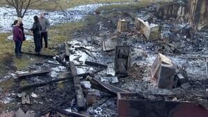 Cochrane ranch fire
