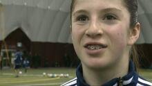 Carmen Marin, 12, soccer player