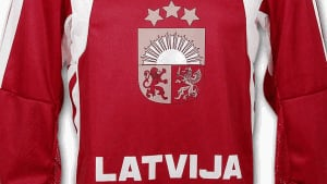 Latvia hockey jersey