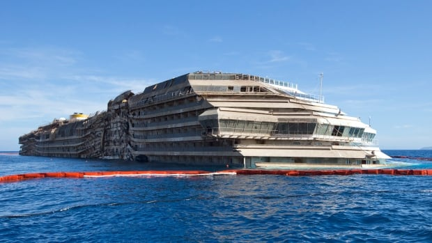 The wreck of the Costa Concordia cruise ship was righted in September and will be moved to a port to be dismantled in June, officials said Friday, a few days before the second anniversary of the Jan. 13, 2012, grounding of the ship that killed 32 people. The complete salvage effort is estimated to cost $817 million.