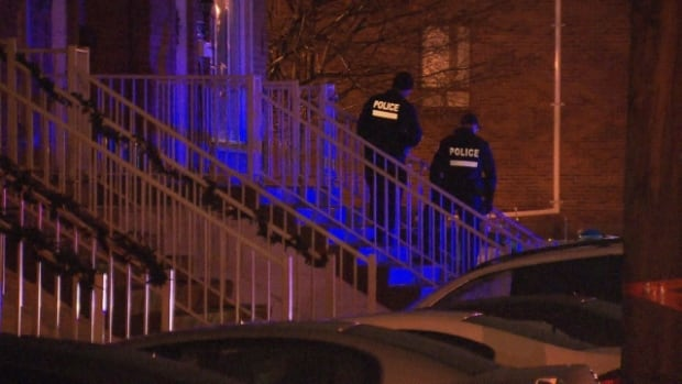 Police are investigating Montreal's first homicide of 2014 that saw a 27-year-old man shot and killed at an apartment in Lachine.