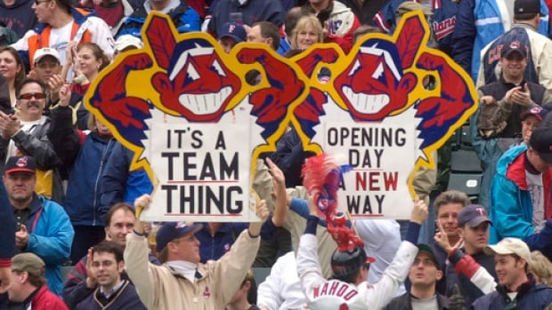 """The Chief Wahoo mascot is no longer, and fans can expect the team brand to survive under a capital """"C"""" logo."""