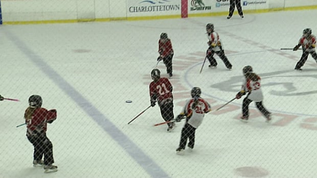 Charlottetown rinks were busy this week with 1,100 young ringette players in town.