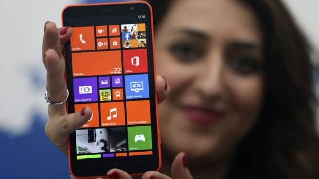 Nokia unveiled its first phablets, including the Lumia 1320 smartphone, at a launch in Abu Dhabi last October.