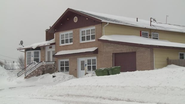 The Canada Border Services Agency executed a search warrant in November 2013 at this  Labrador City residence, as part of an investigation into housing arrangements for temporary foreign workers.