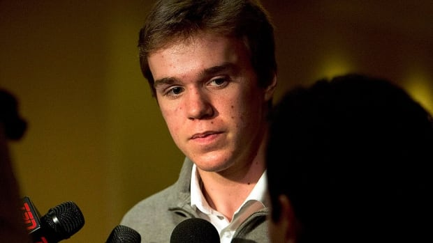 Ontario Hockey League standout Connor McDavid of the Erie Otters will be eligible for the 2015 NHL Entry Draft to be hosted by the Florida Panthers.