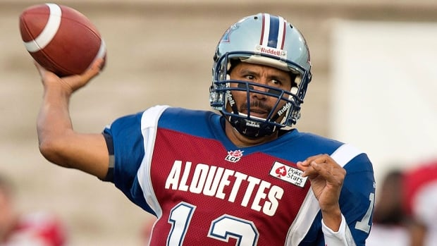 Veteran Alouettes quarterback Anthony Calvillo is expected to announce his retirement on Jan. 21. Prior to missing the second half of the 2013 season with a concussion, he set all-time CFL records for passing yards, completions and touchdowns.