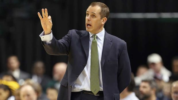 Indiana Pacers coach Frank Vogel has guided his club to a 30-7 record this year.