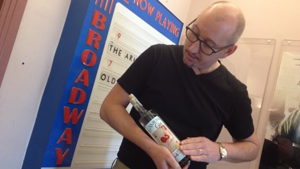 Exec. Dir. of the Broadway Theatre is ready to share his gin with audiences.