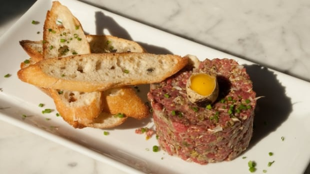 Tartare is a dish made from chopped or minced raw meat.