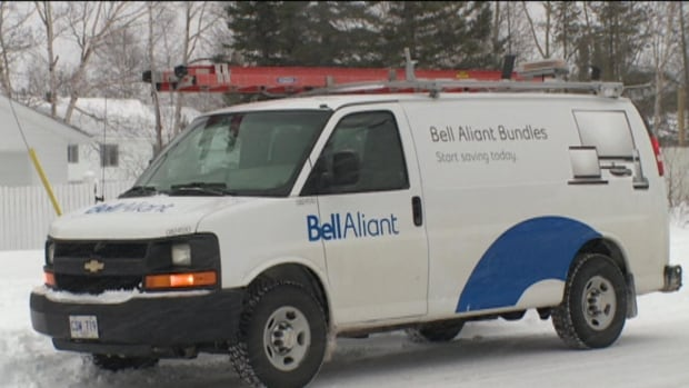 Bell Aliant says it requires almost $100,000 from a developer before installing infrastructure for phone and internet service in a new subdivision.