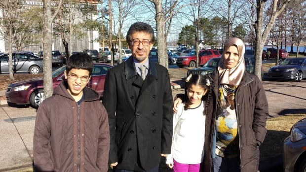 Ibrahim Fathaly, his wife Manal Miloud Sharef, and their children Moaad and Meyss are facing removal from Canada.