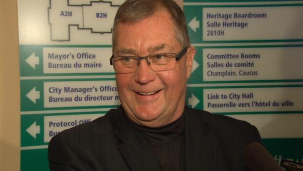 Rainer Bloess, 'The Mayor of Blackburn Hamlet', is not seeking re-election this year.