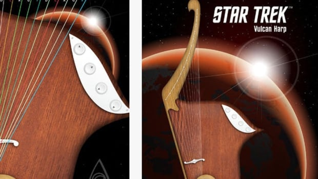 A Regina-based company has developed a Star Trek approved app for Mr. Spock's Vulcan harp.