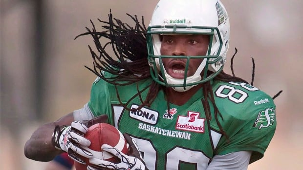 Receiver Taj Smith has re-signed with the Roughriders. He has recorded 125 career catches for 1,697 yards and nine touchdowns in 31 regular-season games with Saskatchewan.