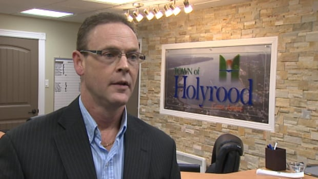 Holyrood Mayor Gary Goobie says his town is ready for the increase in growth expected, now that an extension to the C.B.S. bypass road has opened.