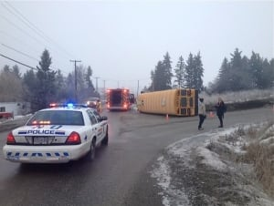 Veron school bus crash