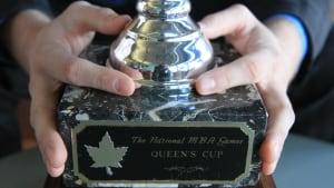 MBA Games Queen's Cup trophy