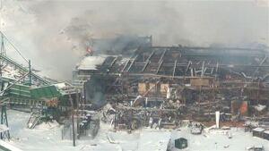 Burns Lake mill explosion 20120121