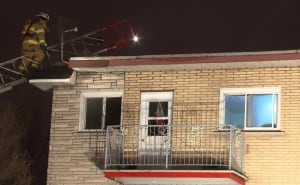 Fire apartment montreal north