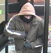 Ottawa Bank Robbery Suspect