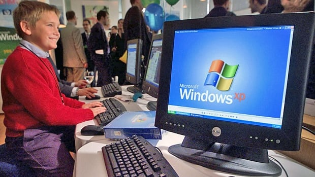 Microsoft's aging Windows XP operating system, shown in a 2001 file photo, is being officially retired in April. However, company said it will continue offering anti-malware support until 2015.