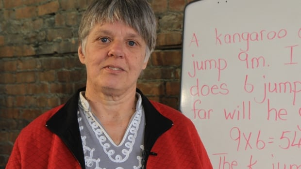 Teresa Murray, 58, is leading a campaign across Ontario petitioning the Minister of Education for a review of the province's math curriculum.