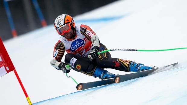 Canada's Jan Hudec speeds down the hill during a super-G race last month.