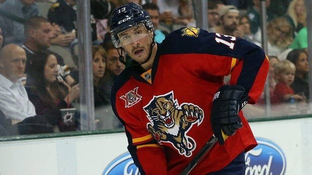 Steve Pinizzotto during a preseason game with the Florida Panthers at American Airlines Center on September 18, 2013 in Dallas, Texas.