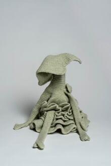 Aganetha Dyck:  Shrunken Crochet