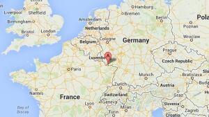 Saarbrucken Germany map