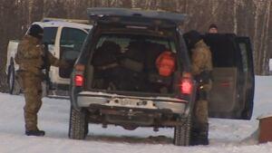 RCMP at Behchoko standoff